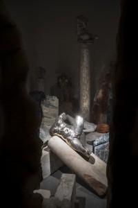 Padiglione Italia, veduta dell'opera di Vanessa Beecroft Le membre fantôme, 2015. Fonte della foto: http://www.codiceitalia2015.com/it/press