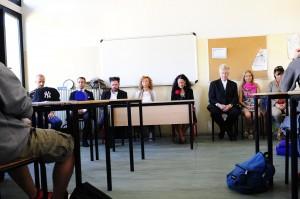 David Lynch in meditazione a scuola di Lucca. Unica esperienza italiana
