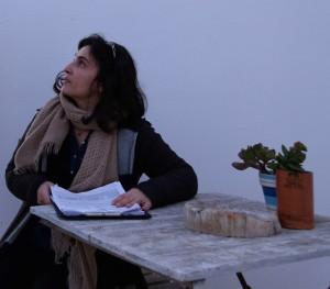 La regista Guendalina Zampagni