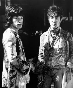 Mick Jagger e John Lennon
