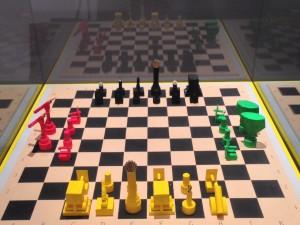 La scacchiera ideata da Schoenberg