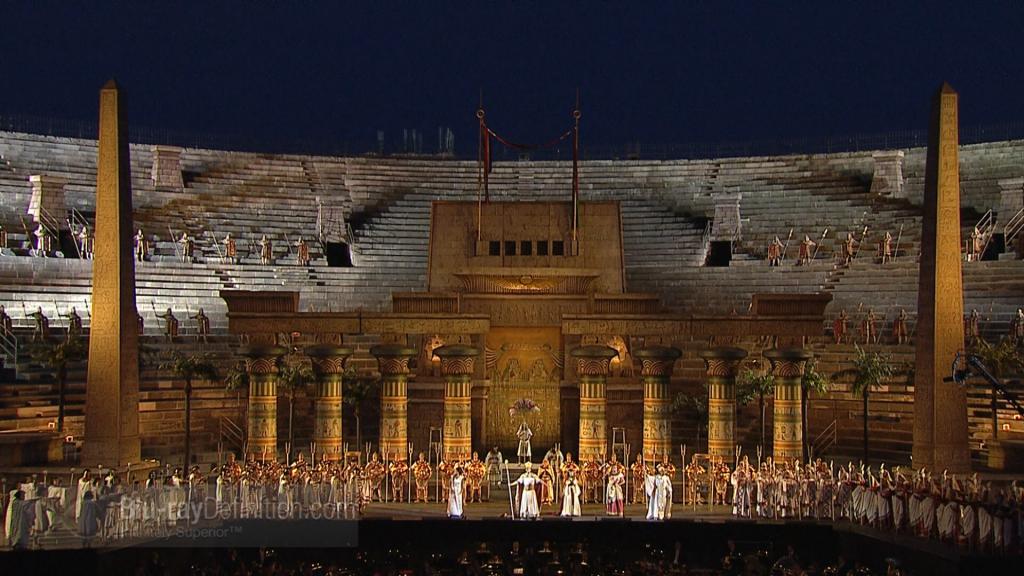 Aida, Arena di Verona ( da ripresa DVD BluRay)