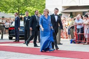 Angela Merkel e suo marito immancabili al Festival di Bayreuth
