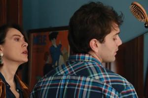 Elena Sofia Ricci e Mauro Racanati in una scena del film