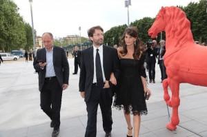 Franceschini e signora al Gala di inaugurazione dell'Opera di Firenze /pressPhoto