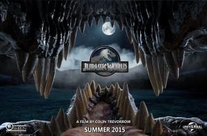 """img. 5  Un'altra locandina di """"Jurassic World"""""""