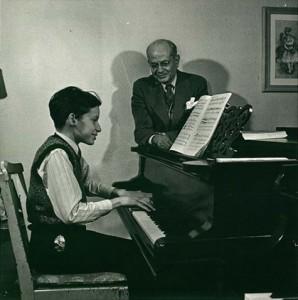 Alberto Guerrero e Glenn Gould, il suo più celebre allievo