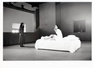 'Calderon' , regia di Luca Ronconi Saggio della Scuioal di Teatro del TST  1992-93 foto M. Norberth