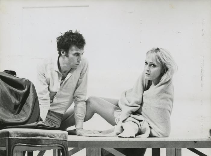Orgia di Pier Paolo Pasolini, Laura Betti e Luigi Mezzanotte, regia di Pier Paolo Pasolini Torino 1969