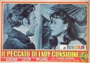 """Il poster de """"Il peccato di Lady Considine"""""""