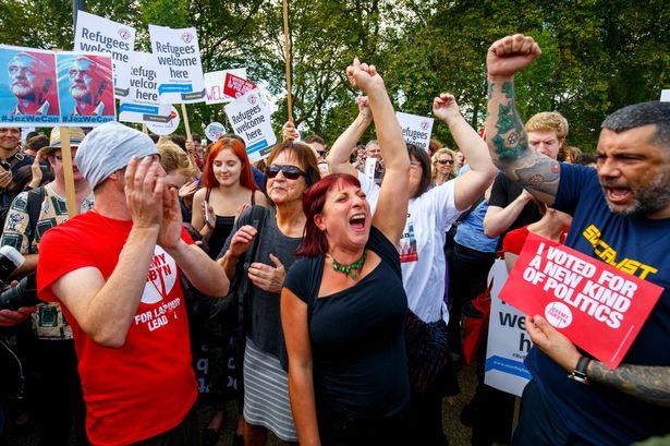 Il popolo di Corbyn (The Mirror)