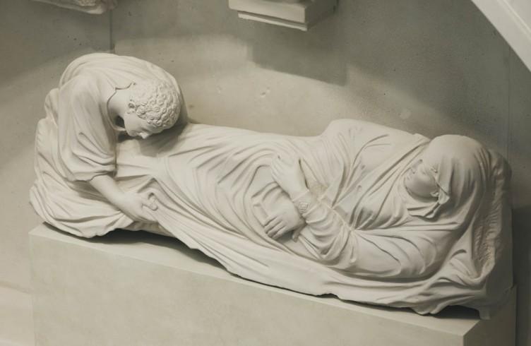 Calco della 'Dormitio Virginis' di Arnolfo di Cambio