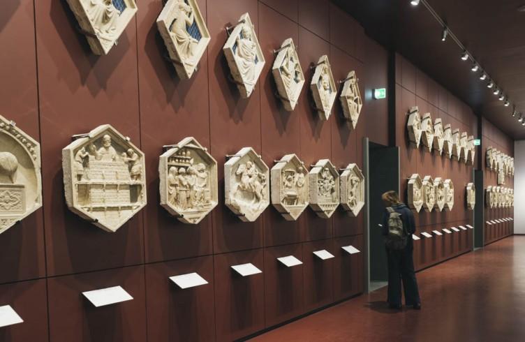 Nuovo Museo dell'Opera del Duomo, gli originali delle 54 formelle del Campanile di Giotto