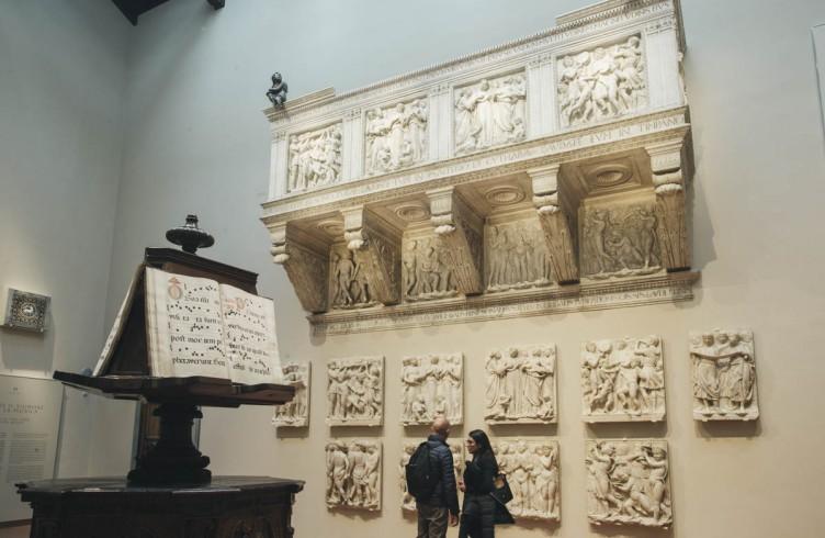 Luca della Robbia, Cantoria, Nuovo Museo dell'Opera del Duomo