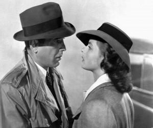 Una scena del film -Casablanca- (1942)