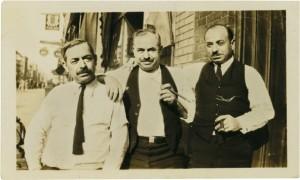 Il nonno di Francis Ford Coppola, Cicciopane, al centro della foto, accanto ai suoi fratelli. Courtesy F.F. Coppola N.Y. Times