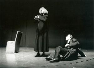Affabulazione, regia di Luca Ronconi, con Umberto Orsini e Marisa Fabbri, TST 1992/3 foro M. Norberth