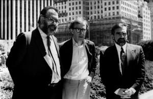 Francis Ford Coppola Woody Allen e Martin Scorsese