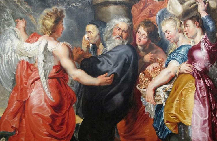 Jacob Jordaens (da Rubens), Lot e le figlie, 1618-20ca (Tokyo, National Museum of Western Art)