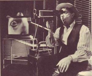 Sandro Lombardi in Artaud, regia Federico Tiezzi, I Magazzini 1987 / foto M-Buscarino