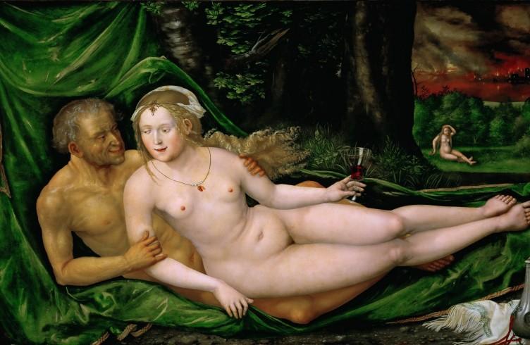 Lot e le sue figlie, olio su tela di Albrecht Altdorfer, 1537 (Vienna, Kunsthistorisches Museum)