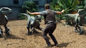 Una scena tratta da Jurassic World
