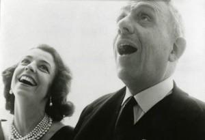 Francis Poulenc con Denise Duval,  per cui creò i ruoli di Thérèse/Tirésias In 'Les Mamelles de Tirésias' e Blanche in 'Dialogues des Carmélites' (http://www.theartsdesk.com/classical-music/bbcso-morlot-barbican)