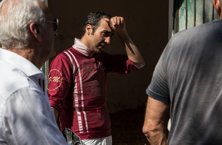 16 Visarno, un driver stanco e infangato alla fine di una corsa