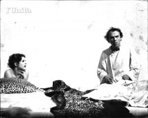 Uomo e sottosuolo, 1976 con Giorgio Albetazzi ( archivio on line Unità)