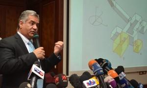 Mamdouh al Damati annuncia la presenza delle camere segrete. Foto Reuters
