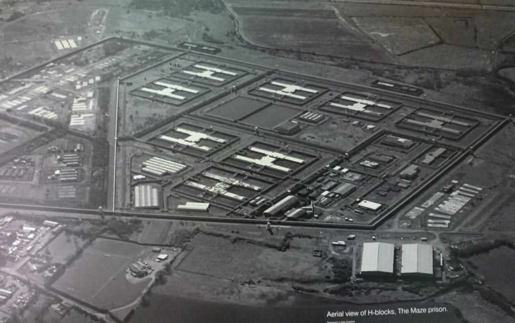 Il carcere di Long Kesh all'epoca di Bobby Sands (Belfast- Ulster Museum)
