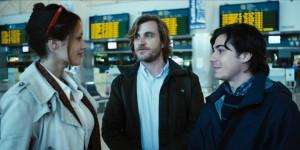 I tre attori protagonisti del film: Gwendolyn Gourvenec, Davide Paganini, Jacopo Maria Bicocchi.
