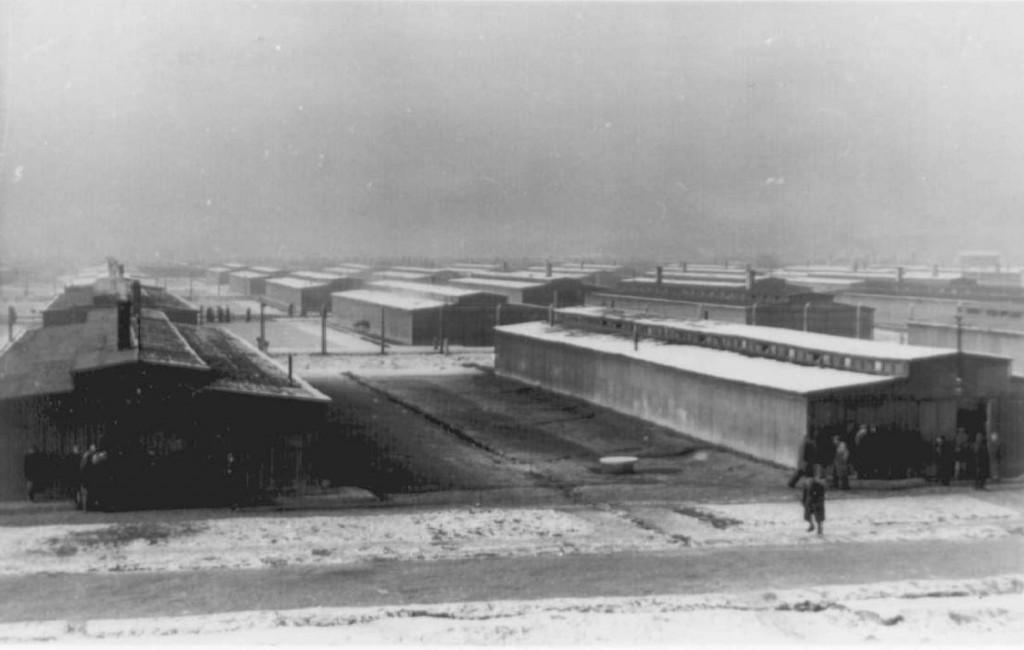 Baracche in legno appena costruite. Photo: SS (Auschwitz-Birkenau State Museum Archives)