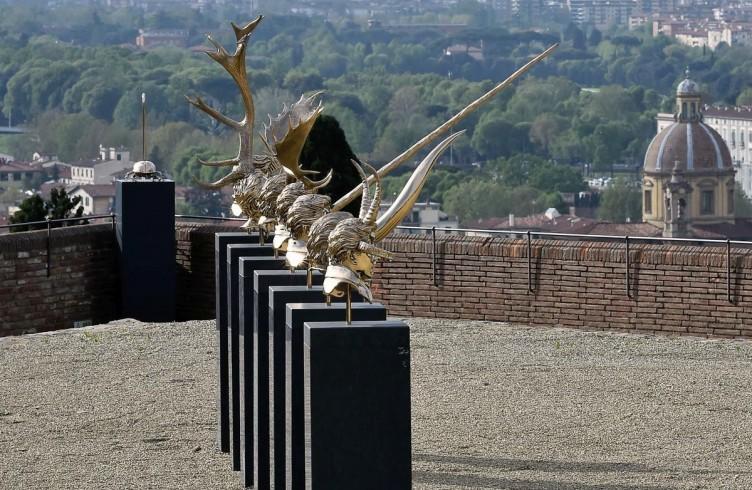 Capitoli I – XVIII (2010) Bronzo al silicio Foto di Mauro Sani © Angelos Bvba
