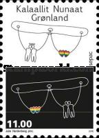L'Amore è un diritto umano - Groenlandia (Stampworld.com)