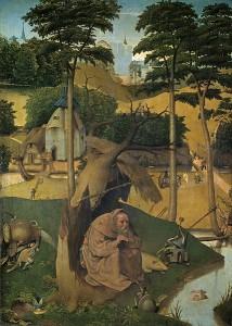 Le Tentazioni di Sant'Antonio, H.Bosch, dettaglio ( wiki commons)