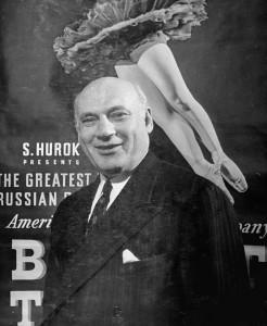 Sol Hurok, leggendario impresario americano, qui in una foto di Marie Hansen -Time pict/Getty images