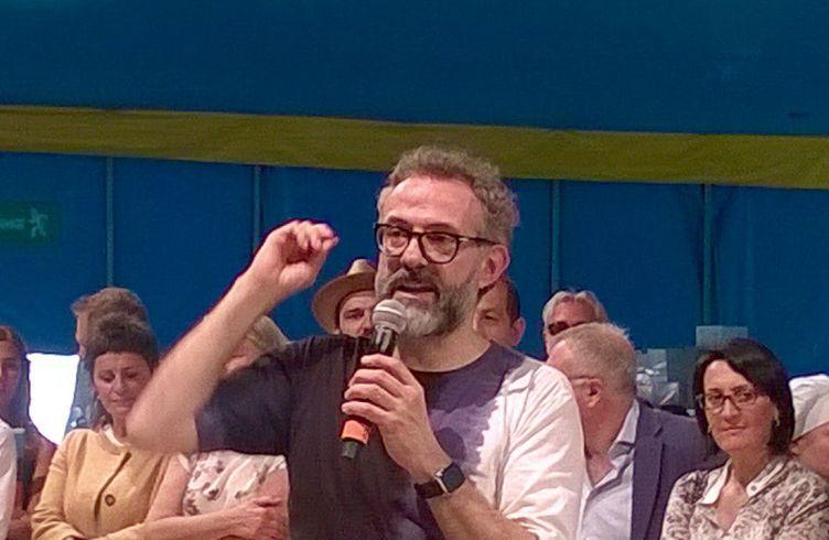 Massimo Bottura a Rimini nel 2015