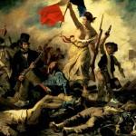 La Libertà che guida il Popolo, Delacroix 1830