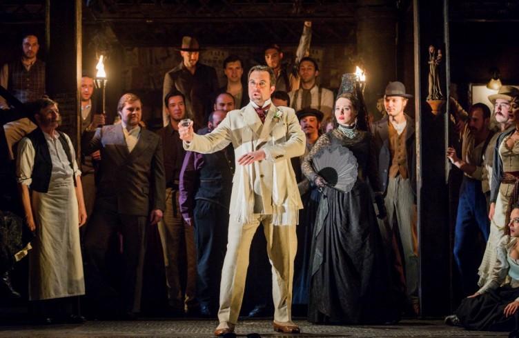 Carmen, Glyndebourne Festival 2015. Escamillo(David Soar). Photographer: Robert Workman