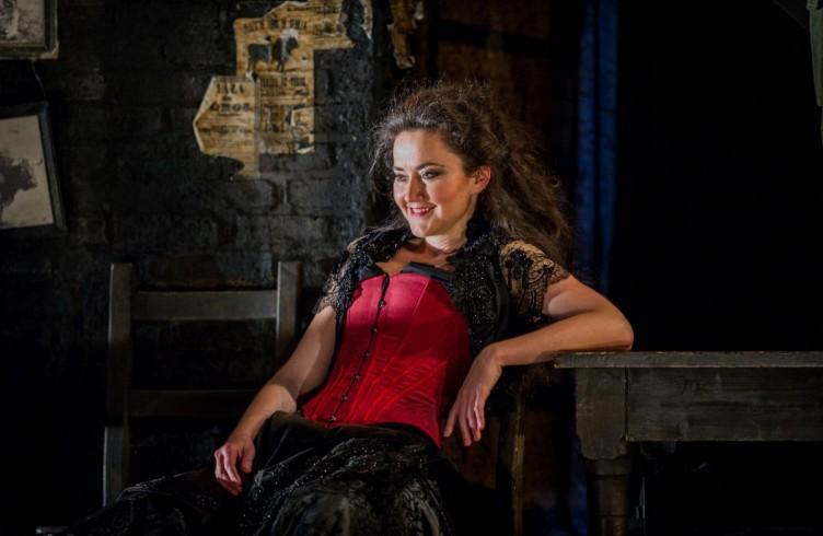 Carmen, Glyndebourne Festival 2015. Carmen(Stéphanie d'Oustrac). Photographer: Robert Workman