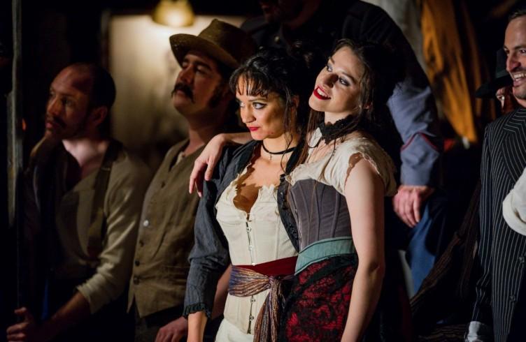 Carmen, Glyndebourne Festival 2015. Dancers Anjali Mehra and Aurélie Poles. Photographer: Robert Workman