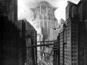 La Torre di Babele, Metropolis, film di Fritz Lang