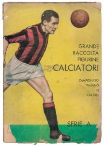 Calciatori 1961-62, il primo album pubblicato da Panini