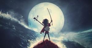 Una scena tratta dal film di animazione Kubo e la spada magica