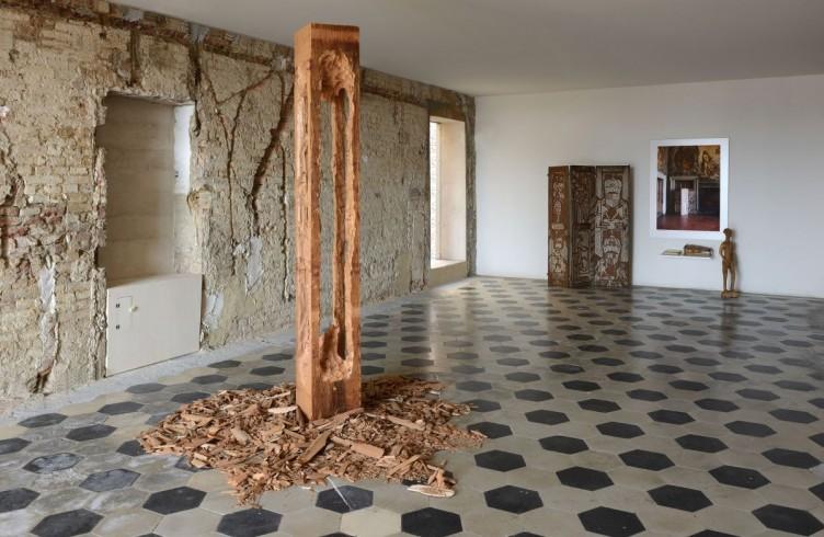 Veduta della mostra, Santa Maria della Scala, Siena Courtesy AGIVERONA Collection PH. Michele Alberto Sereni