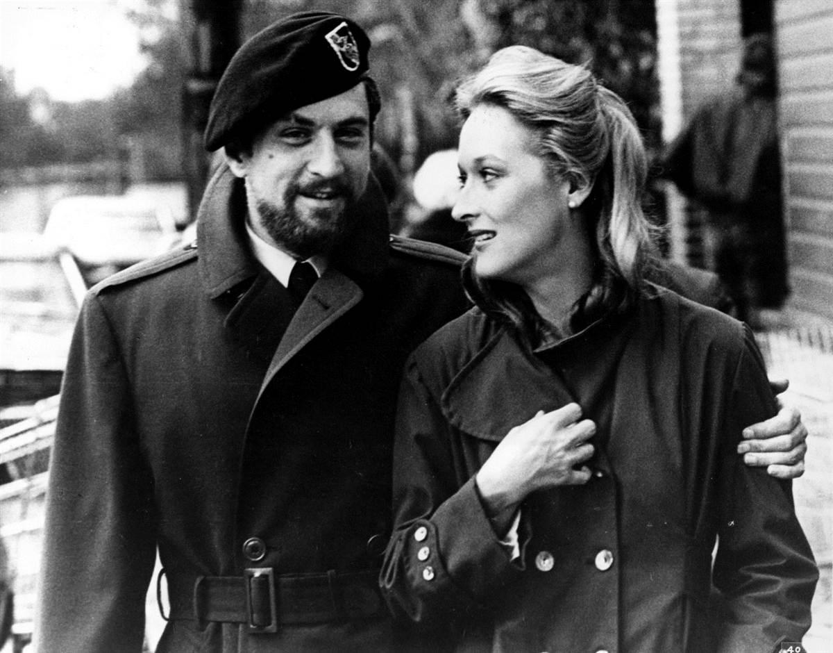 """Robert de Niro e Meryl Streep in """"Il cacciatore"""""""