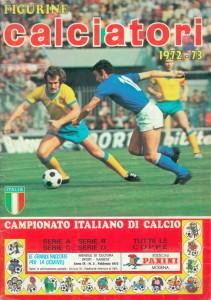 1973, Calciatori 1972-73, Panini, Modena, Donazione Malavolta