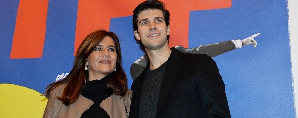 Francesca Pedroni e Roberto Bolle alla presentazione del film al Torino Film Festival