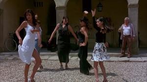 La celebre scena del flamenco nel film